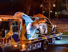 Bus crashes into house, Carnbroe,  11 January 2019