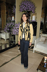 BELLA FREUD at the 10th Anniversary Party of the Lavender Trust, Breast Cancer charity held at Claridge's, Brook Street, London on 1st May 2008.<br /><br />NON EXCLUSIVE - WORLD RIGHTS