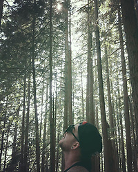 """Adam Lambert releases a photo on Instagram with the following caption: """"Day off in Vancouver - Grouse Grind Hike kicked my ass!!!! 2,830 steps up the mountain. Wow! Stunning views and a sense of accomplishment.... and SWEAT!"""". Photo Credit: Instagram *** No USA Distribution *** For Editorial Use Only *** Not to be Published in Books or Photo Books ***  Please note: Fees charged by the agency are for the agency's services only, and do not, nor are they intended to, convey to the user any ownership of Copyright or License in the material. The agency does not claim any ownership including but not limited to Copyright or License in the attached material. By publishing this material you expressly agree to indemnify and to hold the agency and its directors, shareholders and employees harmless from any loss, claims, damages, demands, expenses (including legal fees), or any causes of action or allegation against the agency arising out of or connected in any way with publication of the material."""