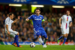 Chelsea Midfielder Frank Lampard (ENG) passes during the second half of the match - Photo mandatory by-line: Rogan Thomson/JMP - Tel: 07966 386802 - 18/09/2013 - SPORT - FOOTBALL - Stamford Bridge, London - Chelsea v FC Basel - UEFA Champions League Group E