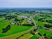 Nederland, Overijssel, Gemeente Wierden; 21–06-2020; Twente, omgeving IJpelo, beekje de Ekosche Aa, richting Natuurgebied Dakhorst.<br /> Twente region, eastern Netherlands, Ekosche Aa, small brook.<br /> <br /> luchtfoto (toeslag op standaard tarieven);<br /> aerial photo (additional fee required)<br /> copyright © 2020 foto/photo Siebe Swart