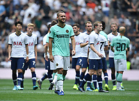 Football - 2019 (ICC) International Champions Cup (pre-season friendly) - Tottenham Hotspur vs. Inter Milan<br /> <br /> Players shake hands after the penalty shoot out is won by Inter Milan, at Tottenham Hotspur Stadium.<br /> <br /> COLORSPORT/ASHLEY WESTERN