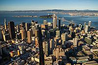 Market Street Bifurcation, Downtown San Francisco
