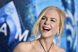 """Premiere of Warner Bros. Pictures' """"Aquaman"""". TCL Chinese Theatre, Hollywood, California. 12 Dec 2018 Pictured: Nicole Kidman. Photo credit: AXELLE/BAUER-GRIFFIN / MEGA TheMegaAgency.com +1 888 505 6342"""