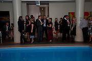 The afterparty following the press night of 'Breakfast At Tiffany's' The Swimming pool,  Haymarket Hotel, London. September 29  2009.