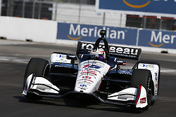 July 13, 2018 - Toronto, Ontario, Canada - GRAHAM RAHAL (15) of the United States takes to the track to practice for the Honda Indy Toronto at Streets of Exhibition Place in Toronto, Ontario. (Credit Image: © Justin R. Noe Asp Inc/ASP via ZUMA Wire)