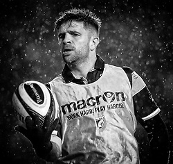 Lewis Jones of Cardiff Blues<br /> <br /> Photographer Simon King/Replay Images<br /> <br /> Guinness PRO14 Round 14 - Cardiff Blues v Connacht - Saturday 26th January 2019 - Cardiff Arms Park - Cardiff<br /> <br /> World Copyright © Replay Images . All rights reserved. info@replayimages.co.uk - http://replayimages.co.uk