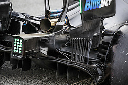 February 20, 2019 - Barcelona, Spain - Haas F1 Team VF-19 Ferrari, Mechanical detail of the diffusor, wings and suspensions during Formula 1 winter tests from February 18 to 21, 2019 at Barcelona, Spain - Photo  /  Motorsports: FIA Formula One World Championship 2019, Test in Barcelona, (Credit Image: © Hoch Zwei via ZUMA Wire)
