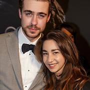 NLD/Amsterdam/20150211 - Premiere Fifty Shades of Grey, Beau Schneider en .........
