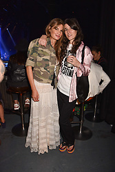 """Jemima Khan and Bella Freud at """"Hoping For Palestine"""" Benefit Concert For Palestinian Refugee Children held at The Roundhouse, Chalk Farm Road, England. 04 June 2018."""