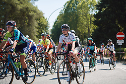 Nancy van der Burg (NED) at Strade Bianche - Elite Women 2020, a 136 km road race starting and finishing in Siena, Italy on August 1, 2020. Photo by Sean Robinson/velofocus.com