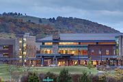 Scenic views of Sentara Martha Jefferson Hospital in Charlottesville, Va.  Photo/Andrew Shurtleff Photography, LLC