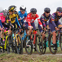 14-03-2021: Wielrennen: GP Oetingen: Oetingen: Lisa Klein; Elise Chabbey; Alexis Ryan