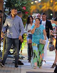 Formentera: Cristiano Ronaldo with his girlfriend Georgina Rodriguez & Mother - 9 July 2017
