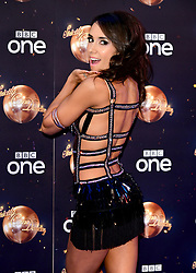 Janette Manrara at the launch of Strictly Come Dancing 2018 held at The Broadcasting House, London.