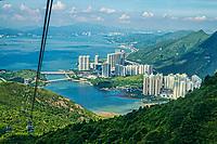Ngong Ping Cable Car (360 Skyrail) & Tung Chung, Lantau Island