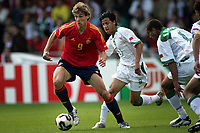 Fotball <br /> FIFA World Youth Championships 2005<br /> Nederland / Holland<br /> 11.06.2005<br /> Foto: ProShots/Digitalsport<br /> <br /> Spania v Marokko<br /> Doetinchem<br /> <br /> llorente