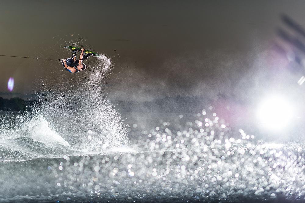 Oliver Derome shot for Oakley on Clear Lake in Orlando, Florida.