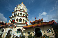 Kek Lok Si Temple or Temple of Supreme Bliss is one of the best known temples in Penang and said to be the largest Buddhist temple in Southeast Asia.