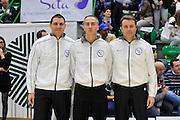 DESCRIZIONE : Beko Legabasket Serie A 2015- 2016 Dinamo Banco di Sardegna Sassari - Olimpia EA7 Emporio Armani Milano<br /> GIOCATORE : Manuel Attard Carmelo Paternicò' Emanuele Aronne<br /> CATEGORIA : Arbitro Referee<br /> SQUADRA : AIAP<br /> EVENTO : Beko Legabasket Serie A 2015-2016<br /> GARA : Dinamo Banco di Sardegna Sassari - Olimpia EA7 Emporio Armani Milano<br /> DATA : 04/05/2016<br /> SPORT : Pallacanestro <br /> AUTORE : Agenzia Ciamillo-Castoria/C.AtzoriCastoria/C.Atzori