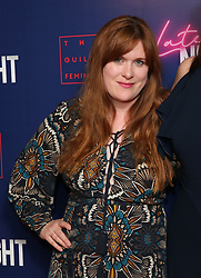 Jessica Regan attending the LATE NIGHT Gala Screening at Picture House Central, London. Picture dated: Monday May 20, 2019. Photo credit should read: Isabel Infantes / EMPICS Entertainment.