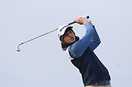 Shane Irwin (Killeen) on the 4th tee during Round 3 of The West of Ireland Open Championship in Co. Sligo Golf Club, Rosses Point, Sligo on Saturday 6th April 2019.<br /> Picture:  Thos Caffrey / www.golffile.ie
