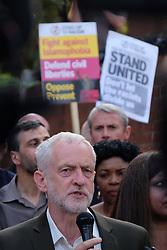 June 20, 2017 - London, United Kingdom - Jeremy Corbyn, MP among the speakers, in London, on June 20, 2017. (Credit Image: © Jay Shaw Baker/NurPhoto via ZUMA Press)