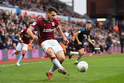 March 16, 2019 - Birmingham, England, United Kingdom - JohnMcGinn (7) of Aston Villa crosses the ball during the Sky Bet Championship match between Aston Villa and Middlesbrough at Villa Park, Birmingham on Saturday 16th March 2019. (Credit Image: © Mi News/NurPhoto via ZUMA Press)