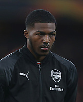 Arsenal's Ainsley Maitland-Niles<br /> <br /> Photographer Rob Newell/CameraSport<br /> <br /> Football - UEFA Europa League Round of 16 Leg 2 - Arsenal v Rennes - Thursday 14th March 2019 - The Emirates - London<br />  <br /> World Copyright © 2018 CameraSport. All rights reserved. 43 Linden Ave. Countesthorpe. Leicester. England. LE8 5PG - Tel: +44 (0) 116 277 4147 - admin@camerasport.com - www.camerasport.com