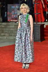 © Licensed to London News Pictures. 02/11/2017. London, UK. OLIVIA COLMAN attends the World Film premiere of Murder On The Orient Express . Photo credit: Ray Tang/LNP