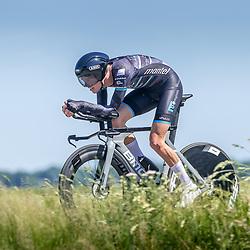 EMMEN (NED) June 16: <br />CYCLING <br />Dutch Nationals Time Trail Women Elite<br />Huub Deelstra