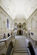 Universities in Vienna, Austria..Universität Wien..Stairways.
