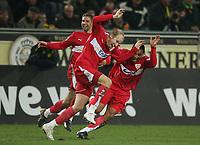 Fotball<br /> Bundesliga<br /> 04.02.07<br /> Borussia Dortmund - VfB Stuttgart<br /> Thomas Hitzlsperger, Ludovic Magnin, Antonio da Silva - Stuttgart<br /> DIGITALSPORT / NORWAY ONLYTrainer