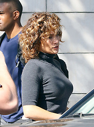 October 6, 2016 - New York, New York, United States - Actress Jennifer Lopez on the set of the TV show 'Shades of Blue' on October 6 2016 in New York City  (Credit Image: © Zelig Shaul/Ace Pictures via ZUMA Press)