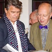 NLD/Heemstede/20151116 - Boekpresentatie De Zin van het Leven, Emile Ratelband en Wybe Tuinman