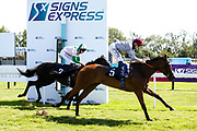 Lehwaiyla ridden by David Probert trained by Sir Michael Stoute wins the The Sky Sports Racing Skyn415 Median Auction Maiden Fillies' Stakes - Mandatory by-line: Robbie Stephenson/JMP - 22/07/2020 - HORSE RACING - Bath Racecoure - Bath, England - Bath Races