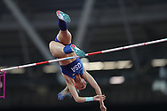 Sandi Morris during the IAAF World Championships at the London Stadium, London, England on 6 August 2017. Photo by Myriam Cawston.