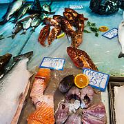 Korfu stad Grekland  2014 06 17 Greece<br /> Marknad i Korfu stad Kerkyra<br /> Grönsaker fisk oliver människor<br /> <br /> ----<br /> FOTO : JOACHIM NYWALL KOD 0708840825_1<br /> COPYRIGHT JOACHIM NYWALL<br /> <br /> ***BETALBILD***<br /> Redovisas till <br /> NYWALL MEDIA AB<br /> Strandgatan 30<br /> 461 31 Trollhättan<br /> Prislista enl BLF , om inget annat avtalas.