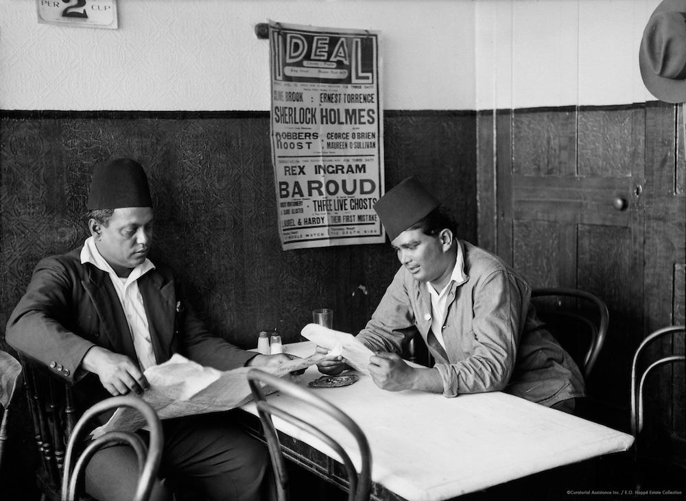 International Restuarant, West India Dock Road, London, 1934