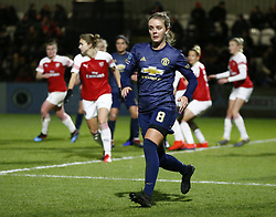 February 7, 2019 - London, England, United Kingdom - Mollie Green of Manchester United Women .during FA Continental Tyres Cup Semi-Final match between Arsenal and Manchester United Women FC at Boredom Wood on 7 February 2019 in Borehamwood, England, UK. (Credit Image: © Action Foto Sport/NurPhoto via ZUMA Press)