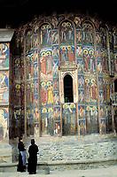 Moldovita  monastery - Moldavia - Romania<br /><br />Roumanie - Moldavie - Monastère Moldovita