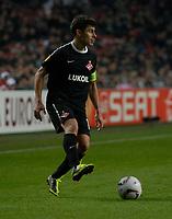 Football - Europa League Round of 16 - Ajax v Spartak Moscow <br />Spartak captain Alex.