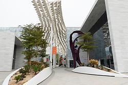 Exterior of the new Sheikh Abdullah al Salem Cultural Centre in Kuwait City, Kuwait