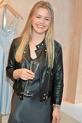 PHOEBE SALTER at a party to celebrate the re-launch of the Ghost Flagship store at 120 King's Road, London on 15th April 2015.