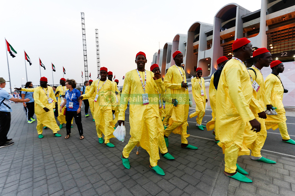 March 21, 2019 - Abu Dhabi, United Arab Emirates - Athletes attend Closing Ceremony of Special Olympics World Games in Zayed Sports City in Abu Dhabi, United Arab Emirates on March 21, 2019.  Special Olympics is a worldwide organization which organize sports competitions for people with learning difficulties. Summer World Games take place every 4 years. 7500 athletes from nearly 200 countries compete in 24 Olympic Sport disciplines in Abu Dhabi Games in 2019. (Credit Image: © Dominika Zarzycka/NurPhoto via ZUMA Press)