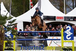 Thijssen Sanne, NED, Con Quidam RB<br /> Seniors <br /> Nederlands Kampioenschap Jumping - Mierlo <br /> © Hippo Foto - Dirk Caremans<br /> 23/04/2017