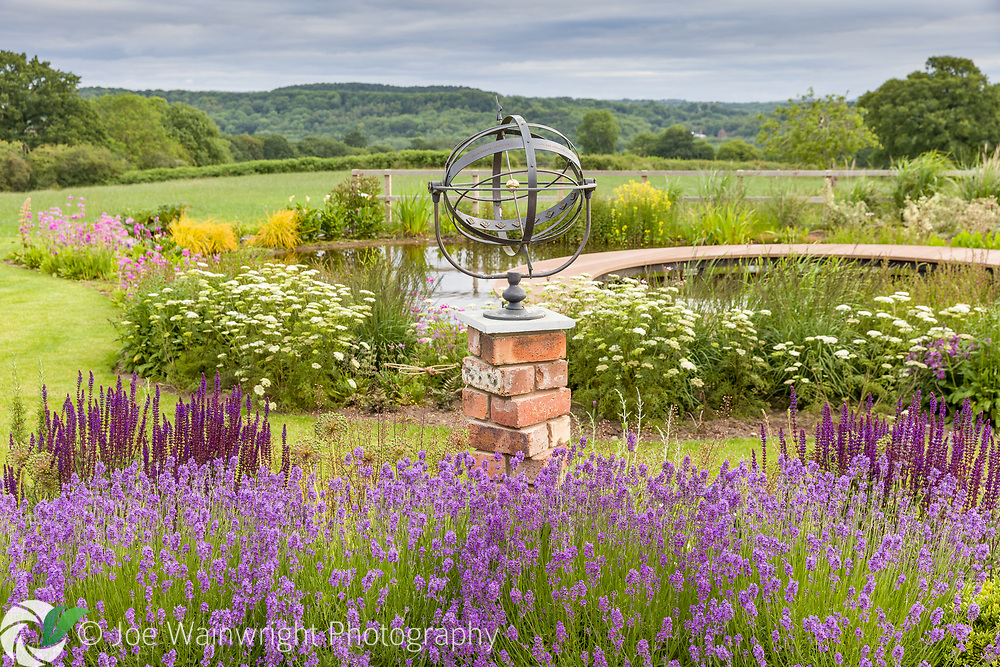 A private garden in Broseley, Shropshire - designed by Paul Richards, Photographed in July