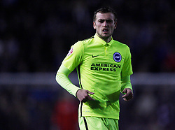 James Wilson of Brighton & Hove Albion in action - Mandatory byline: Jack Phillips / JMP - 07966386802 - 12/12/2015 - FOOTBALL - The iPro Stadium - Derby, Derbyshire - Derby County v Brighton & Hove Albion - Sky Bet Championship