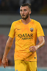 October 28, 2018 - Naples, Naples, Italy - Bryan Cristante of AS Roma during the Serie A TIM match between SSC Napoli and AS Roma at Stadio San Paolo Naples Italy on 28 October 2018. (Credit Image: © Franco Romano/NurPhoto via ZUMA Press)