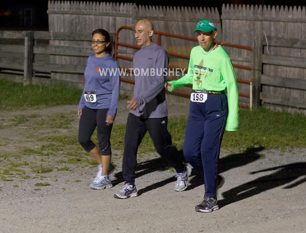 Augusta, New Jersey - Runners compete during the 3 Days at the Fair races at Sussex County Fairgrounds on May 12, 2012.
